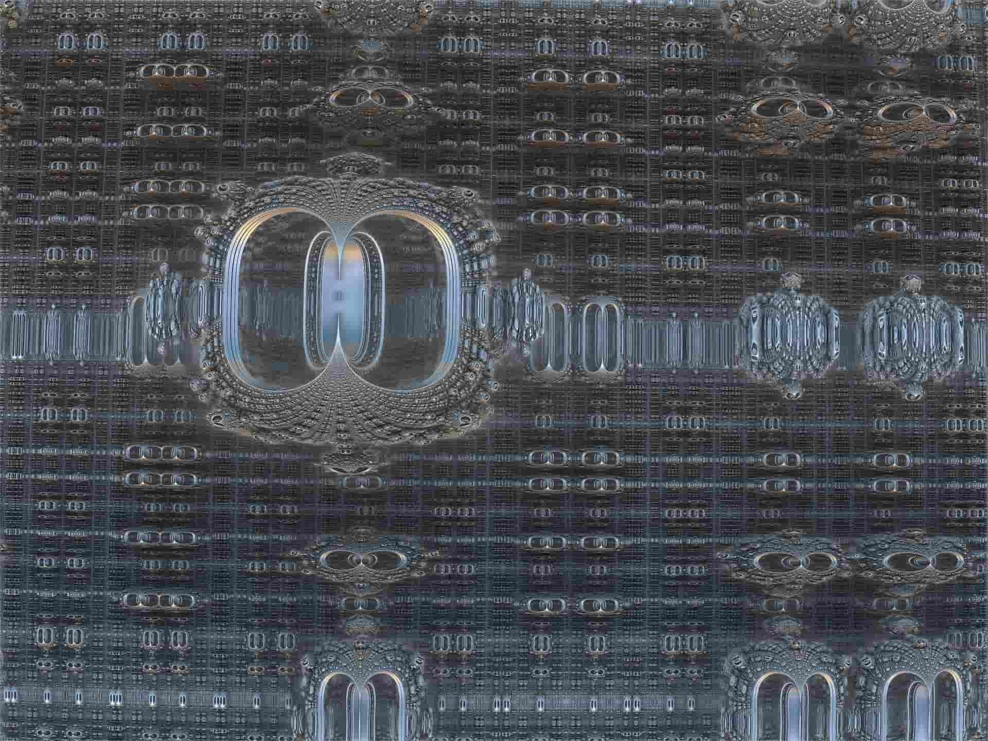 komputer kwantowy tło