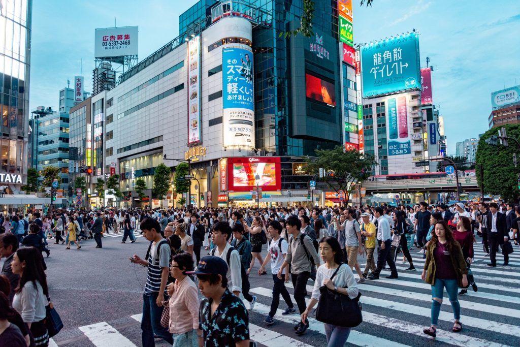 inteligentne miasta świata Japonia