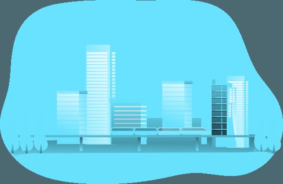 grafika miasta